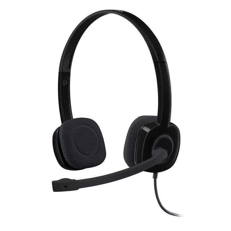 LOGITECH 981-0000587 STEREO HEADSET H151 (SINGLE 3.5MM JACK)